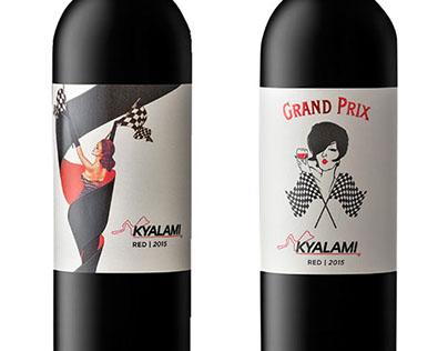 Kayalami Wine Labels