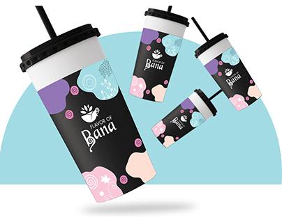 Flavor Of Bana | Cafe Branding