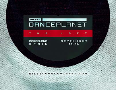 Diesel: Dance Planet   Design Boards