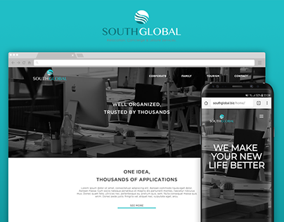 South Global Website