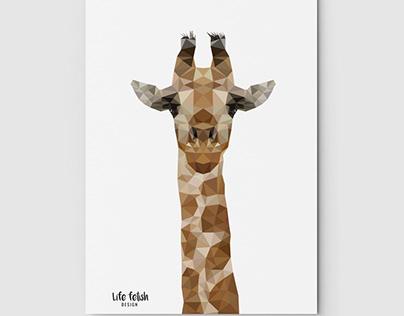 Żyrafa Wild
