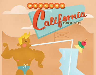 California Drought Infographic