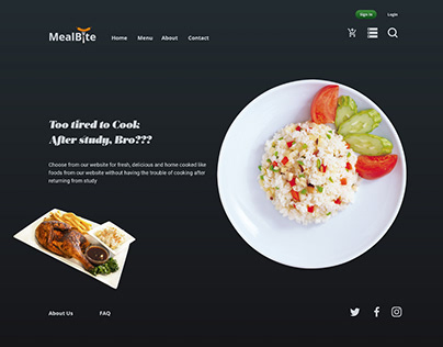 MealBite Food Ordering Website