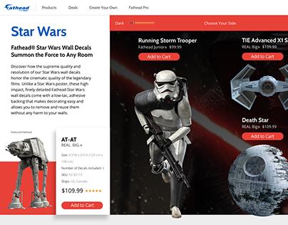Fathead - Star Wars Concept