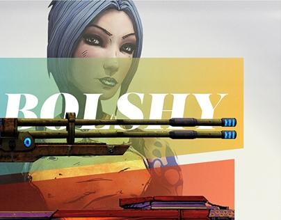 A Lady Must ... – Borderlands 2 Poster Design