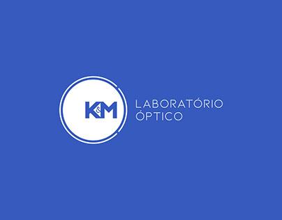 Identidade Visual - K&M Laboratório Óptico