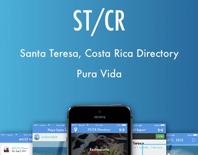 Santa Teresa, Costa Rica Directory - Concept Design