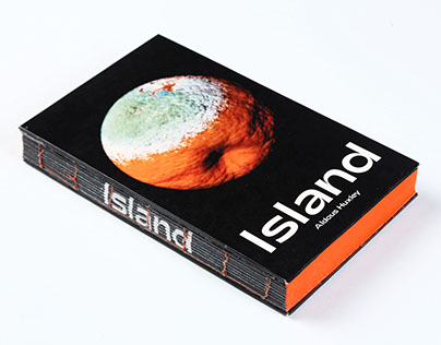 """Island"" (Aldous Huxley) - Book cover"