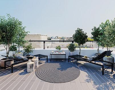 Lagom Lofts Terrace