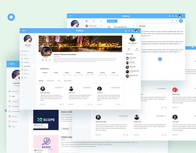 Agency Web Application Design