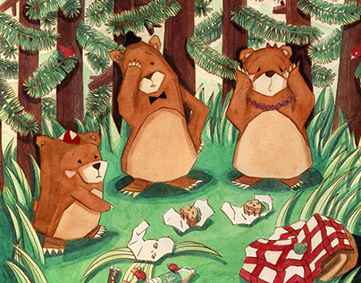 Skip and the Three Bears