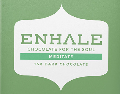 Enhale Chocolate Bar Packaging