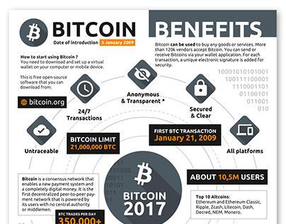 Bitcoin Infographic 2017
