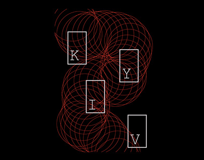 Typographic Posters - KYIV