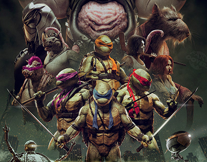 TMNT (Fake Cover #10)