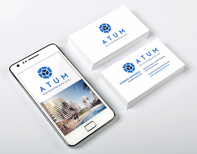 ATUM logo & identity