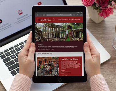 Web Viajes Viatica