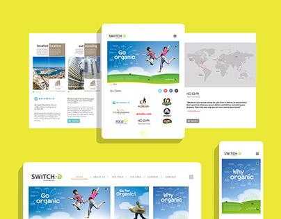 Switch-D. Digital branding and website design.