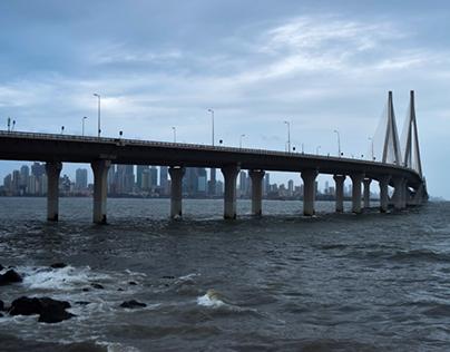 Mumbai Sea-link Time lapse