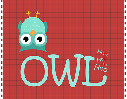 #Owl #animal #Cute #fun #illustration