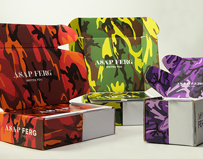 A$AP FERG Packaging Concept