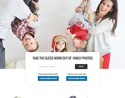 Outfit Findr Home Page