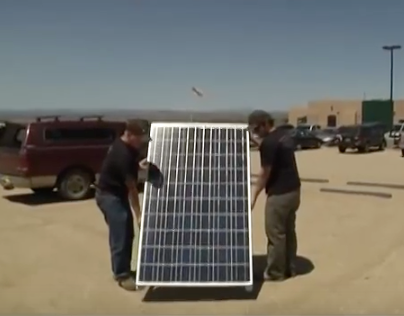 Kit Carson Electric Solar Power Videos