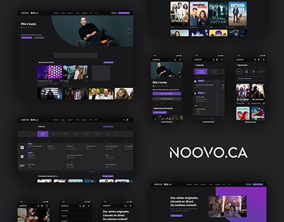 Noovo.ca 3.0 - UI/UX Redesign Case