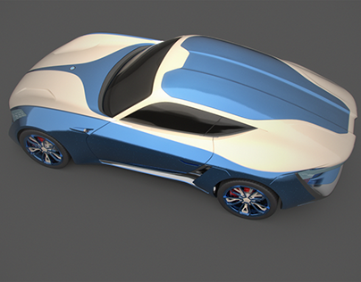 X_TAON ISO - Art Car Texturing Challenge