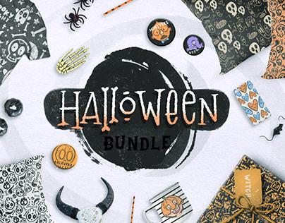 Halloween BUNDLE + 150 ELEMENTS!