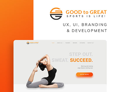 Good to Great Website and Branding - India