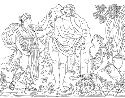 Heracles' choice between Vice and Virtue