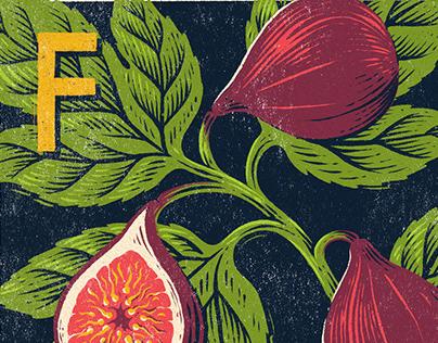 A - Z Food & Drink Illustrations. Part I