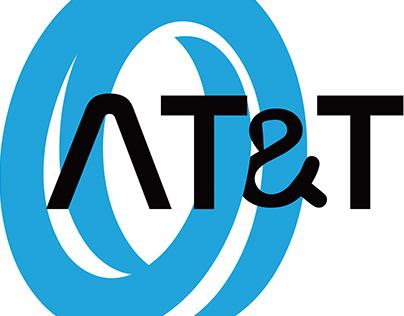 redesign at&t logo