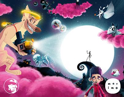 Illustration Game - Marimo Mag