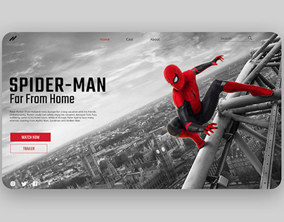 Spider-Man Web Design