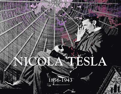 Nicola Tesla Poster