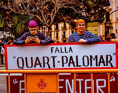 Valencia, Las Fallas