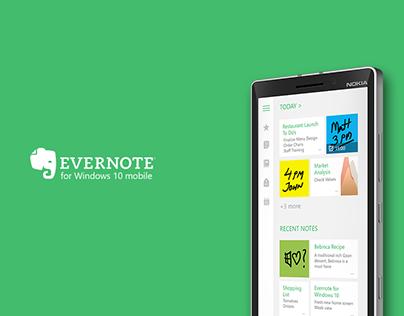 Evernote App Concept