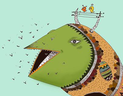 Fishbird 2D/3D