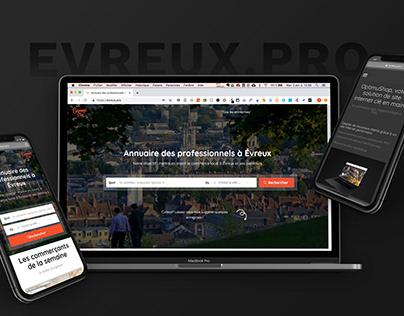 Evreux.pro | Site Internet