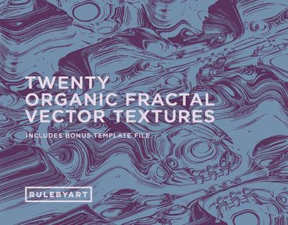 Organic Fractal Vector Textures