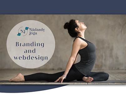 Branding and webdesign for Yoga