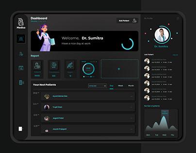 Medico Mobile App UI UX Design