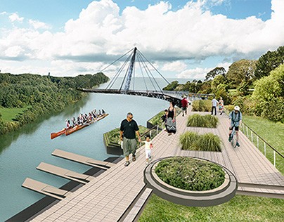 Urban Design: Otara Lake and Waterways