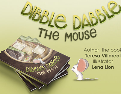 Illustrations for the children's book about the mouse