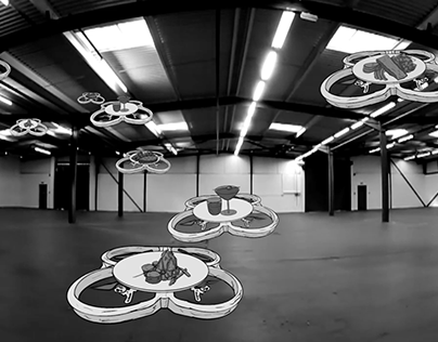 Drone Activity In Progress