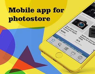 Photostore app