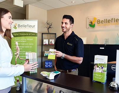 Bellefleur Physio - Branding