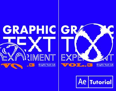Kinetic Typography Stretch, Warp, Glitch, Distort (3)